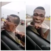 Man Hand Got Stuck When Trying To Snatch A Phone From A Car - Video Drop Online