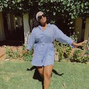 Former Isibaya actress Zama Ngwenya left fans dumbstruck with her recent pictures looking stunning.
