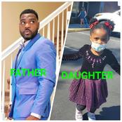 Actor Bigvai Jokotoye's Daughter Goes To School For The First Time.