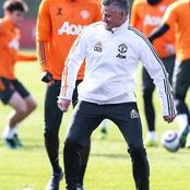 Good news for Manchester United fans as their star striker returns to training
