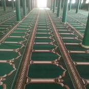Issia -Carême : les cadres RHDP rénovent la mosquée centrale et offrent 1055 m2 de moquette de prière