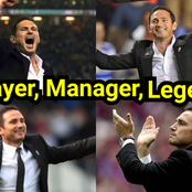Emotional Photos Of LAMPARD Smiling, Jumping & Celebrating With Chelsea When Things Was Going Well