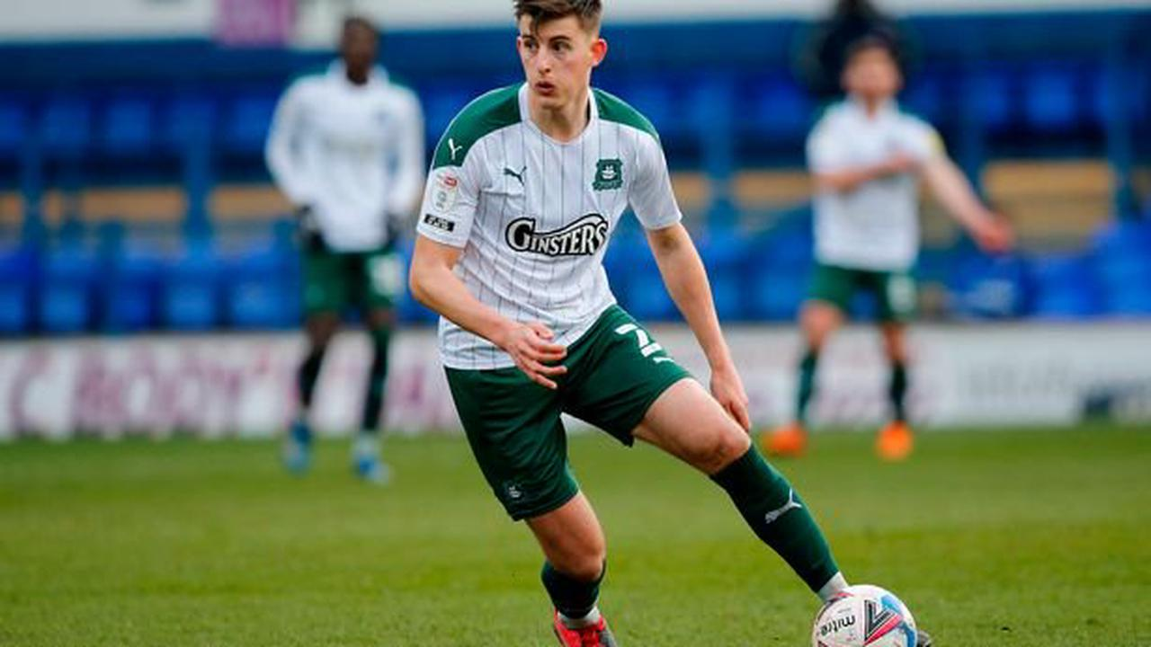 Argyle defender Kell Watts gets all clear after hospital checks