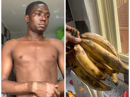 Reactions As Man Claims He Forbids Eating Ripe Plantain In His Home, See His Reason