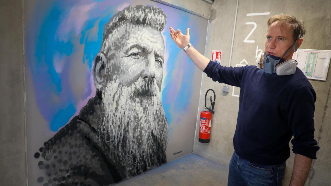 L'artiste Jimmy C fait renaître Rodin au parking de la gare de Roubaix