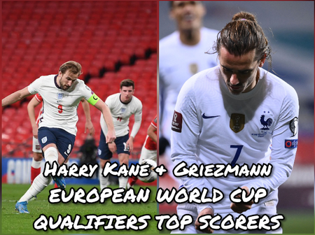 After Griezmann & Kane Scored Yesterday, This Is How World Cup Qualifiers Top Scorers Table Looks