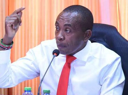 Kimani Wamatangi Breathes Fire Tells Off Politicians Complaining Over Removal of Malala And Others