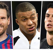 Ronaldo, Messi and Mbappe have 19 goals this season, checkout Europe's golden boot contenders list