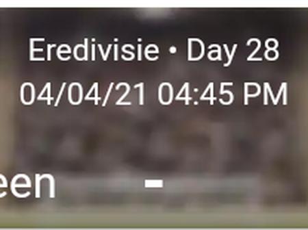 Heerenveen vs Ajax Statistics
