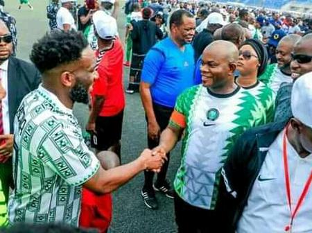 Ex Super Eagles Stars Held in Kogi, As Yahaya Bello's New Direction Team Force out 1:1 draw