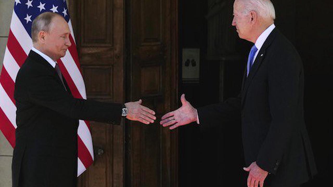 Biden und Putin gehen in Genf aufeinander zu