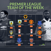Manchester United Dominates the EPL Team of The Week
