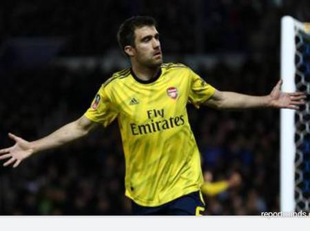 Arsenal Terminate The Contract Of Their 32 Year Old Defender