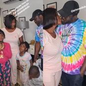 Mercy Johnson Shares A Cute Video Of Her Children Interrupting Her As She Tried To Kiss Her Husband