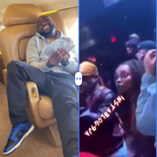 Davido Dances On As A Lady Allegedly Abused Him At A Club In The U.S (Video)