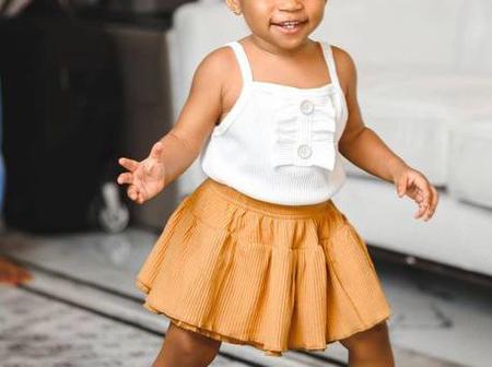 Beautiful photos of Ruth Kadiri's daughter
