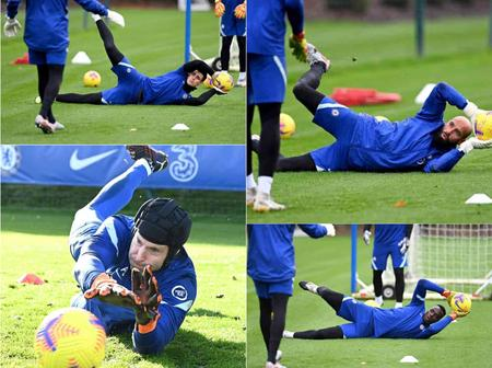 Cech, Kepa And Caballero In Contention To Start Vs Newcastle After Impressing In Training