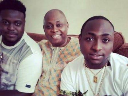 Happy Family Moments: See Pictures of Davido and His Billionaire Father, Adeleke