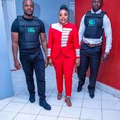 Reactions As Photo Of Gospel Artist Justina Syokau With Bodyguards Surfaces