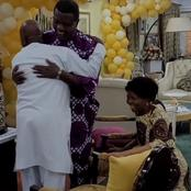 Reactions As Oyedepo's Wife Kneel To Greet Adeboye