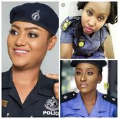 Check out How South African, Ghanian and Nigerian Female Police Look adorable in their Uniforms.