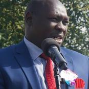 Here Is The Kieleweke MP Selected To Replace Kositany As Jubilee Deputy Secretary General