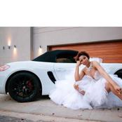 Update: Enhle Mbali (Black Coffee's ex-wife) and her new Porsche