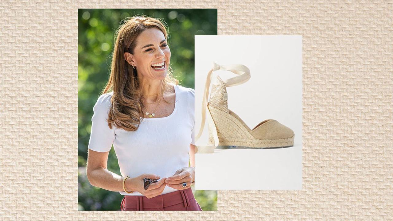 Kate Middleton's favourite Castañer wedges are currently half price