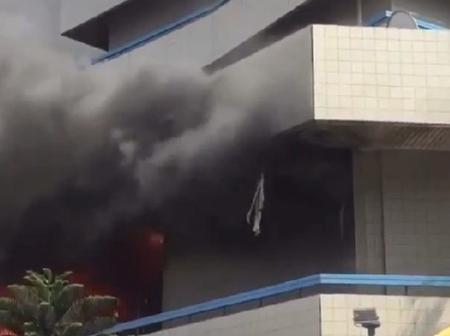 Fire guts Kantamanto GCB bank