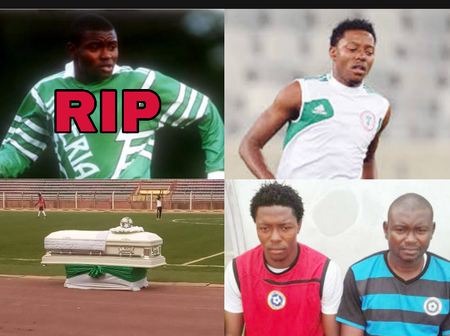 The former Super Eagles player that died recently, See his son that is following  his footsteps