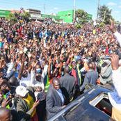 Ruto Lands In Narok Like A King