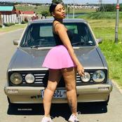 19 years old lady relieve how she bought her first car.