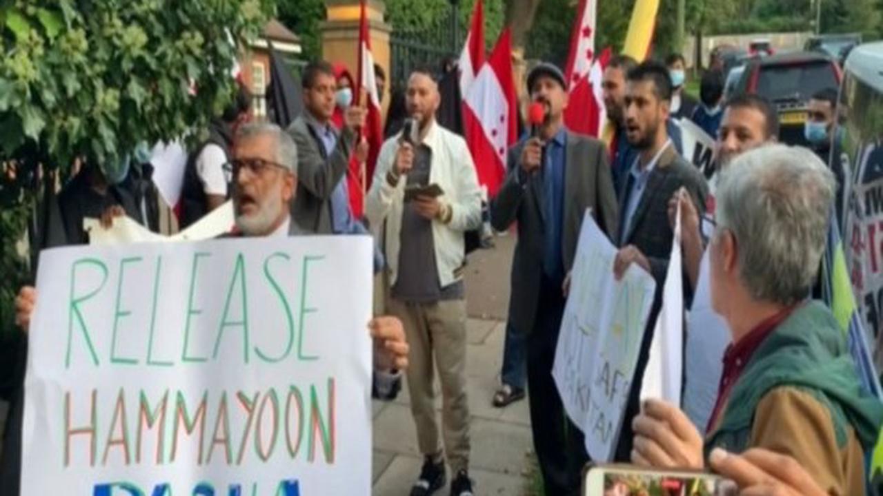 London: PoK activists hold protest