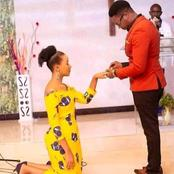 See 5 photos of Nigerian women Who knelt Down To Collect Their Boyfriend's Engagement Ring
