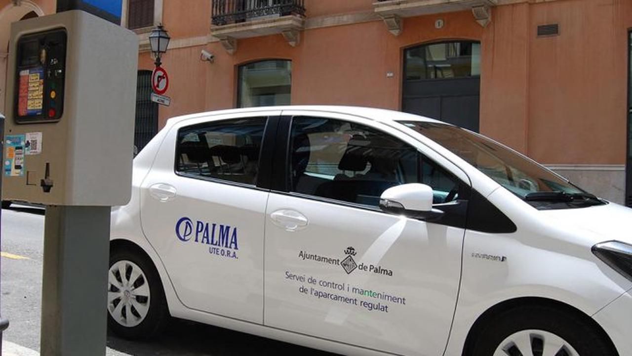 New paid parking zones for Palma will mean 400 metres will be changed