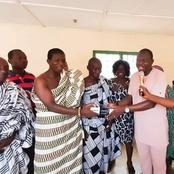 B/R: Berekum East MP Donates Musical Instruments And Others To Some Communities In His Constituency