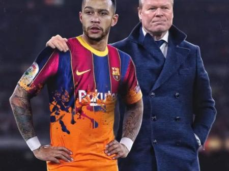Mephis Depay have decided to keep the door open for Barcelona till January 2021.