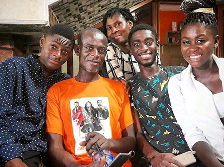 Meet The Kumawood Movie Director Jackson K Bentum's Beautiful Wife And His 3 Children