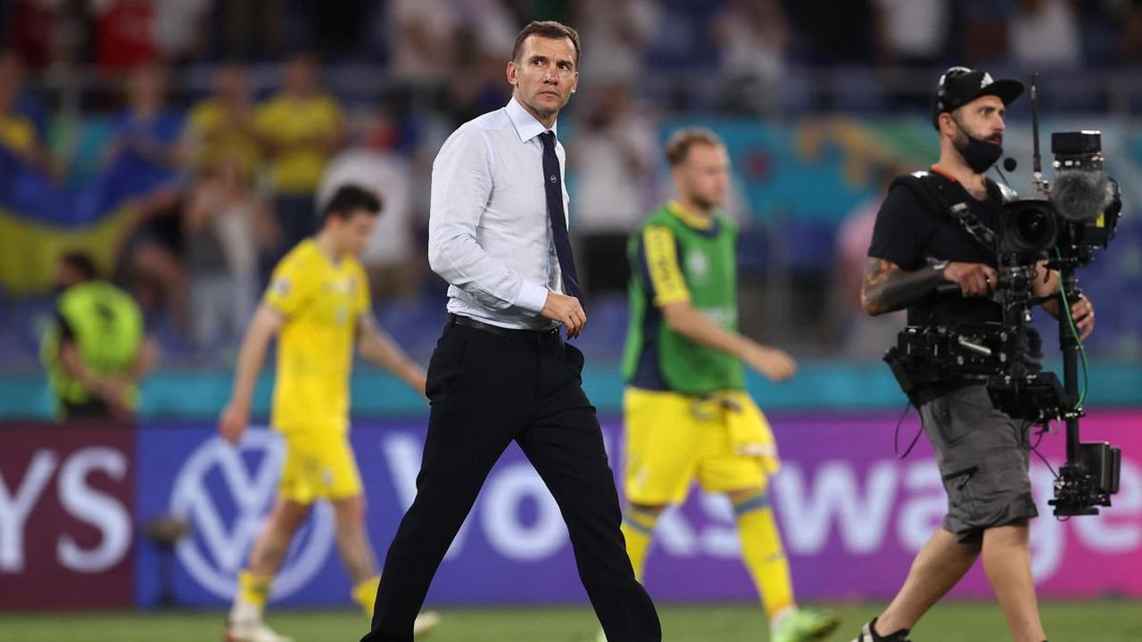 Former Chelsea striker Andriy Shevchenko leaves his role as head coach of Ukraine