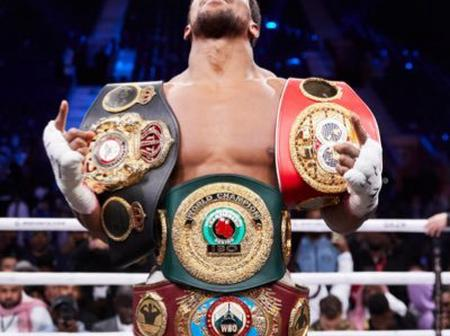 Anthony Joshua Sends His Fans A Strong Message. Read What He Told Them