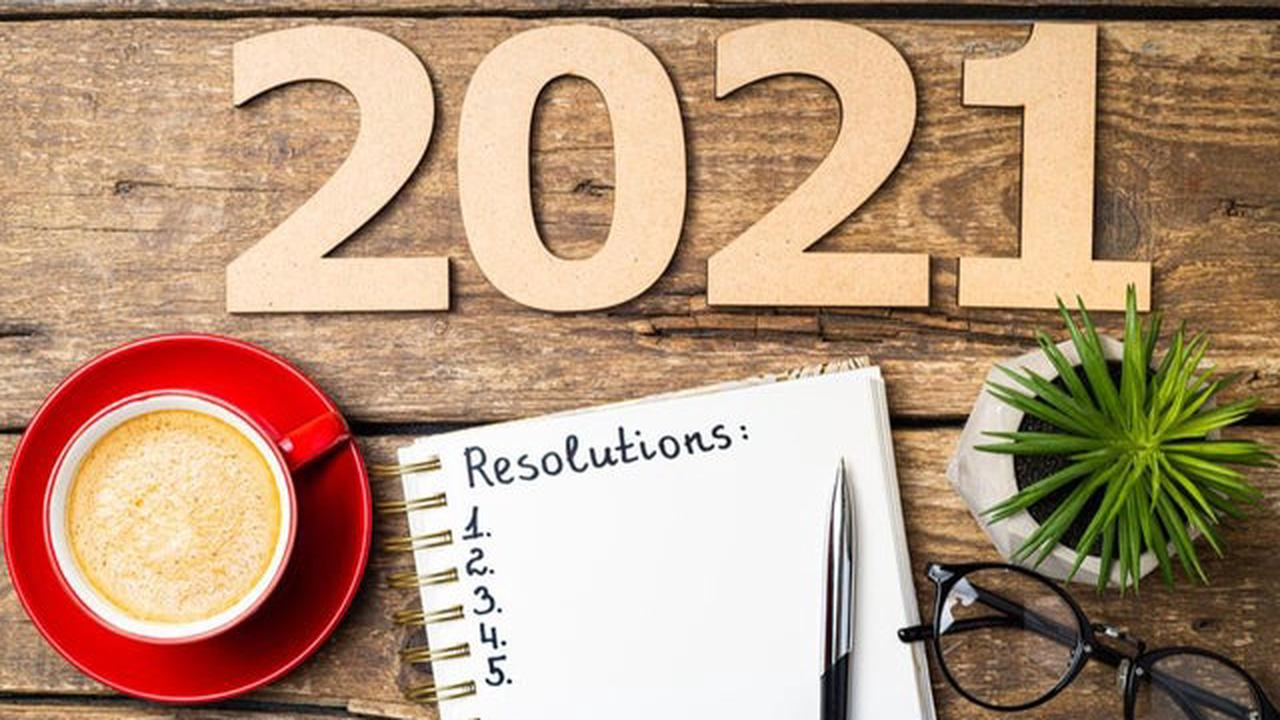 New Year resolutions 2021: challenges you can still achieve while in lockdown - from eating healthier to spending less