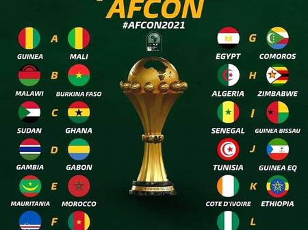 Meet the '24 Elders' For 2021 AFCON. Countries that have qualified for the Africa Cup of Nations