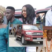 Just A Day After His Wedding, See The Multimillion Naira SUV Nigerian Musician Bought For His Pastor