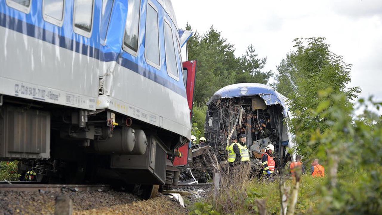 München-Prag: Tote und Verletzte nach Zugunglück in Tschechien