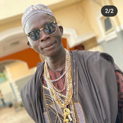 Comic Actor, Agba Yahoo Rejoices As He Meets Popular Fuji Musician