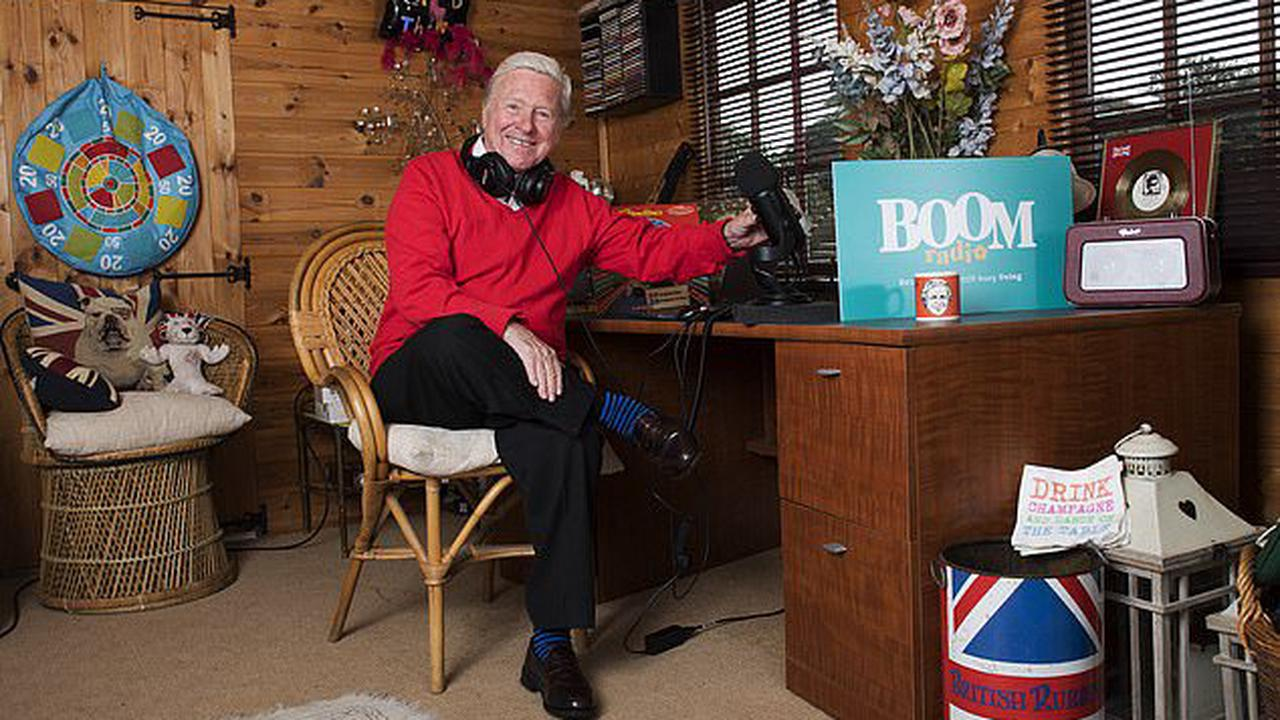 Boom time for the golden oldies: Shunted off the air along with our favourite classic hits, radio legends are back on a poptastic station - broadcasting from their sheds