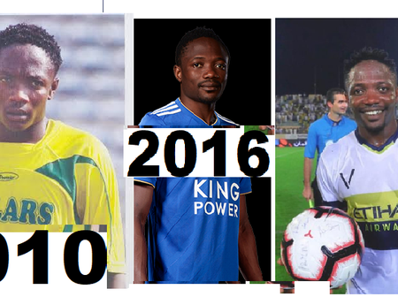 Ahmed Musa Could Return To The Nigerian Club Where He Was The NPFL Highest Goal Scorer (PHOTOS)