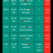 Expertly Analysed and Selected Football Match Predictions to Bank on and Win Massively Today