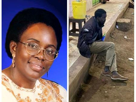 David Major Is The Son Of The Famous Author Margaret Atieno Ogola