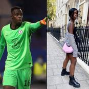 [PHOTOS] Meet Chelsea Goalkeeper's, Mendy Beautiful Sister